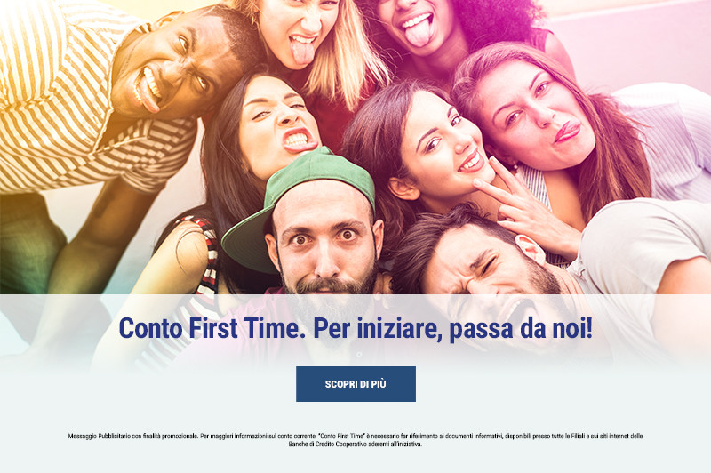 Conto First Time