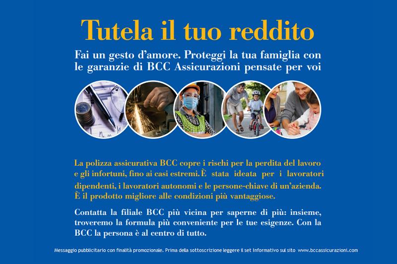tutela reddito bcc provincia romana vela