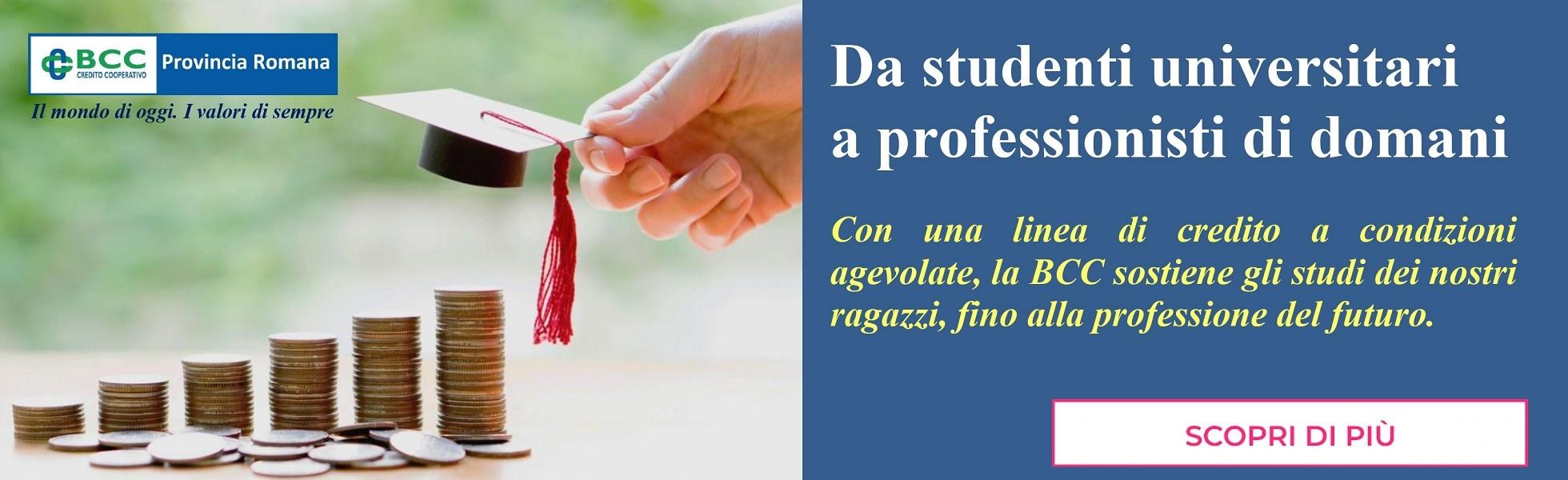 da universitari a professionisti di domani